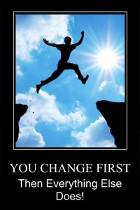 Change first